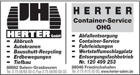 Herter GmbH und Herter Container-Service OHG