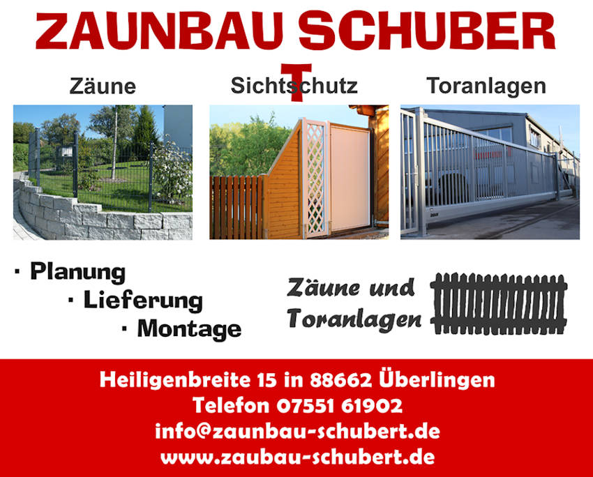 Zaunbau Schubert